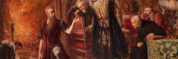 Alchemik Sędziwój, pędzla Jana Matejki, 1867