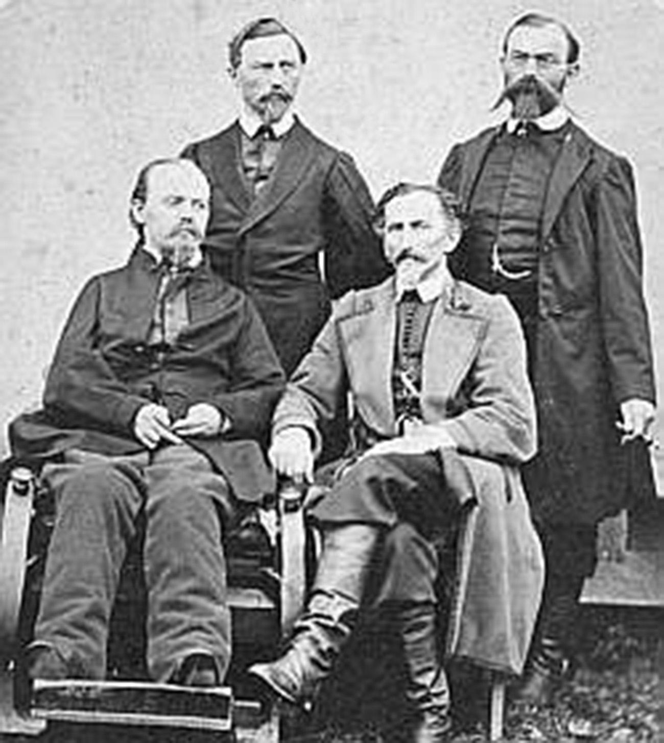 Bracia Żuk - Skarszewscy Ojciec Michał synowie - Marceli Prot i Faustyn Józef