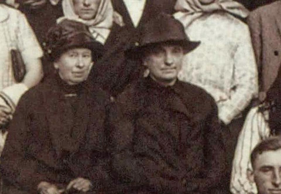 Maria Radomyska hrabina Rostworowska, Łukowica 1926 r.Fot. Archiwum Diecezjalne w Tarnowie